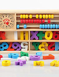 Building Blocks Toy Abacuses Square Wooden Kid