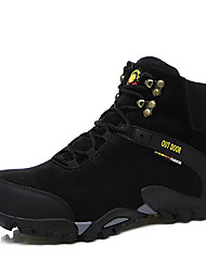Hiking Shoes Men's Athletic Shoes Comfort Snow Boots Light Soles Suede Fall Winter Athletic Casual Outdoor  Comfort Snow Boots Light Soles