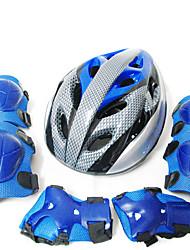 Children's Skating Gauges Skateboard Skateboarding Icebreaker Baby Child 6 Pieces Sport Gauntlets Helmet 7pcs Set