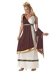 Une Pièce/Robes Reine Déesse Cosyumes Romains Cosplay Fête / Célébration Déguisement d'Halloween Rétro Other Robes Halloween Carnaval