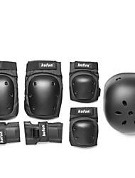 Для детей Для взрослых Защитная экипировка Защита коленей, локтей и запястий для Велосипедный спорт Скейтбординг Роликовые коньки