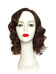 Women Brown Popular Lady Wig Short Synthetic Wig Bob Hair