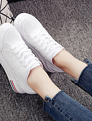 Women's Sneakers Comfort Breathable Mesh Spring Fall Casual Comfort White 4in-4 3/4in