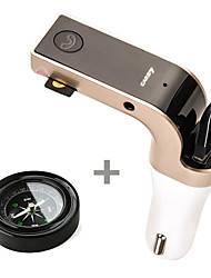 G7 Bluetooth Car FM Transmitter with MP3 Player / Hands-Free / USB Charger / TF and Compass