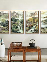 Wall Decor Antique Asian Wall Art