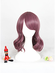 Taro Lolita Wig For Girls Free Shipping 14inch Short Curly Synthetic Anime Cosplay Party Hair Wig Heat Resistant Wig