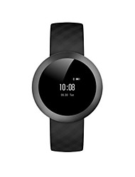 Men's Smart Watch Digital Silicone Band Black White Brown