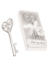 Key to My Heart Bottle Opener Beter Gifts® Groomsman / Bachelor Party Favor