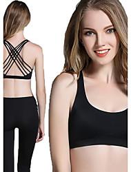 Fengtu Yoga Soutien-Gorges de Sport Vêtements de Compression/Sous maillot Débardeur Fitness, course et yoga Course ExtensibleVêtements de