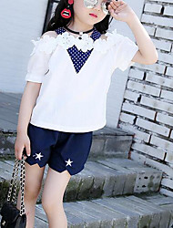 Girls' Others Sets,Cotton Summer Clothing Set