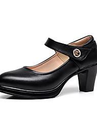 Для женщин Обувь на каблуках Формальная обувь Полиуретан Весна Осень Свадьба Повседневные Для вечеринки / ужина Формальная обувьСтразы