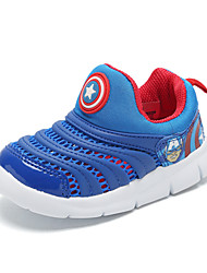 Boys' Loafers & Slip-Ons Comfort Light Soles Spring Summer Tulle Walking Shoes Casual Outdoor Flat Heel Ruby Blue Royal Blue Flat
