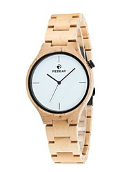 REDEAR®Men's Wood Watch Miyota Japanese Quartz Wooden Wood Band Luxury Elegant Ivory