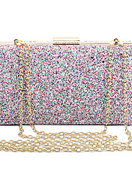 L.WEST Woman Fashion Luxury High-grade Flash Powder Special Sequins Evening Bag