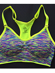 Sports Bra Fitness, Running & Yoga Yoga Running/Jogging Fitness Cotton