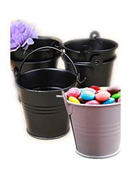 Tin Candy Pails Beter Gifts® Party Decorations - 12pcs/set - 7 x 6 x 6 cm/pcs