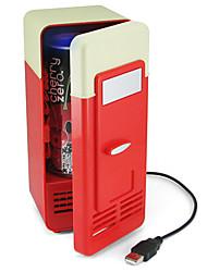 Mini USB PC Laptop Fridge Freezer Beverage Drink Desktop Cans Refrigerator