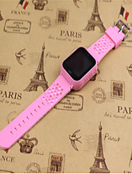 Kid's Smart Watch Digital Leather Band Blue Pink