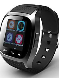 Women's Men's Smart Watch Digital Rubber Band Black White Blue