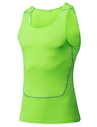 Men's Running Tank Baselayer Sleeveless Fitness, Running & Yoga Compression Clothing Tank forYoga Running/Jogging Exercise & Fitness