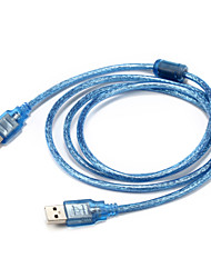 USB 2.0 Kabel, USB 2.0 to USB 2.0 Kabel Male - Male 1.5M (5Ft)