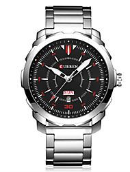 Homens Relógio Esportivo Relógio Elegante Relógio de Moda Relógio de Pulso Único Criativo relógio Chinês Quartzo Calendário Impermeável