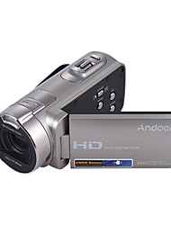 Andoer® HDV-312P 1080P Full HD Digital Video Camera Portable Home-use DV with 2.7 Inch Rotating LCD Screen Max. 20 Mega Pixels 16 Digital Zoom