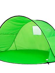2 Personas Tienda Solo Carpa para camping Tienda de playa Resistente a los UV Resistente a la lluvia A prueba de polvo 1000-1500 mm para