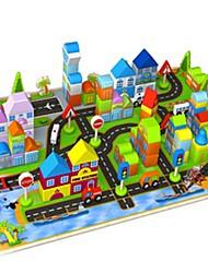 Bloques de Construcción Para regalo Bloques de Construcción Casa Hierro Forjado 1-3 años de edad 3-6 años de edad Juguetes