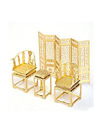 Rompecabezas Puzzles de Metal Bloques de construcción Juguetes de bricolaje muebles Legierung