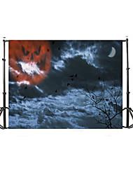 Vinyl Photo Backdrop Child Studio Halloween horror Photography Background Baby 5x7FT