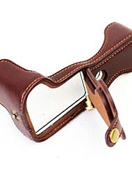 Кожаная сумка с кожаной сумкой для dangpin для канона eos m5 (различные цвета)