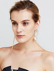 Women's Drop Earrings Imitation Pearl Imitation DiamondPersonalized Euramerican Movie Jewelry Luxury Statement Jewelry Mismatch Sexy