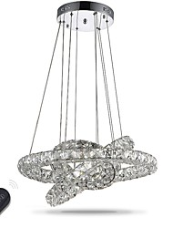 Люстра водить освещение крытый современный диммируемый потолочный подвесной светильник люстры светильники с дистанционным управлением