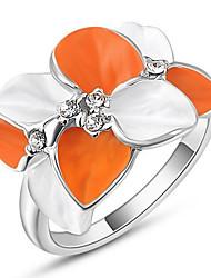 Жен. Кольца для пар Кольца на вторую фалангу Классические кольца СтразыБазовый дизайн Elegant Мода По заказу покупателя Симпатичные Стиль