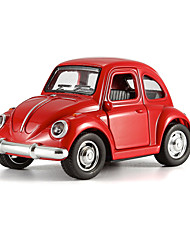 The Beetle Back Door Vintage Car With Light Alloy Music
