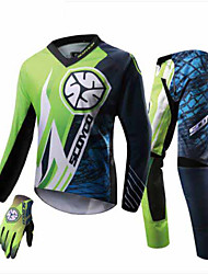 Scoyco T203 Motorcycle Jacket Clothes Set Racing Race Cross Country Mens Trousers Gloves