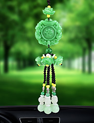 DIY Automotive Car Pendant Lucky Jade High Fashion Car Pendant & Ornaments Crystal