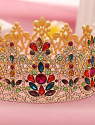 Rhinestone Alloy Headpiece-Wedding Special Occasion Birthday Party/ Evening Tiaras Headbands 1 Piece