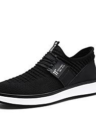 Для мужчин Спортивная обувь Удобная обувь Весна Осень Тюль Беговая обувь Атлетический Повседневные На эластичной ленте На плоской подошве