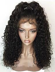 Nouveau style 12-26 pouces 130% de densité 13 * 6 perruque avant en dentelle bouclée pré glissé chevelure pleine perruque en dentelle