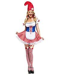 Costumes de Cosplay Tenue Fête d'Octobre/Bière Cosplay Fête / Célébration Déguisement d'Halloween Rétro Robes Chapeau Fête d'Octobre