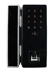 Автоматическая блокировка открывания автоматическая блокировка двойная открытая рама стеклянная дверь блокировка отпечаток пальца