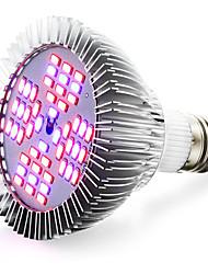12W E26/E27 LED Grow Lights 48 SMD(32Red  16Blue) 5730 2400-2600 lm AC 85-265 V 1 pcs