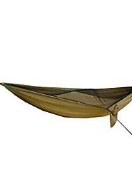 Hamaca para camping con red antimosquitos Resistente a los UV Plegable Tejido Oxford para Camping Camping / Senderismo / Cuevas Al Aire