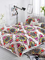 Flanelle Fleur Polyester couvertures