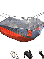 Hamaca para camping con red antimosquitos Antimosquitos Plegable Utra ligero (UL) Nylón para Camping Camping / Senderismo / Cuevas Al