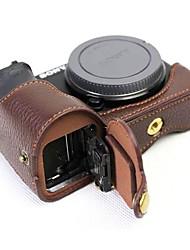 Dengpin кожаная сумка для крышки корпуса для сумки sony ilce-6500 a6500 (различные цвета)