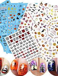 1 Autocollant d'art de clou Motif 3D Produits DIY Autocollant Maquillage cosmétique Nail Art Design