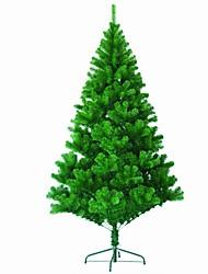1pc le premier arbre de Noël de cryptage haute qualité de l'année nouvelle 1.5 m / 150cm plein d'aiguilles de pin Arbre de Noël décoré